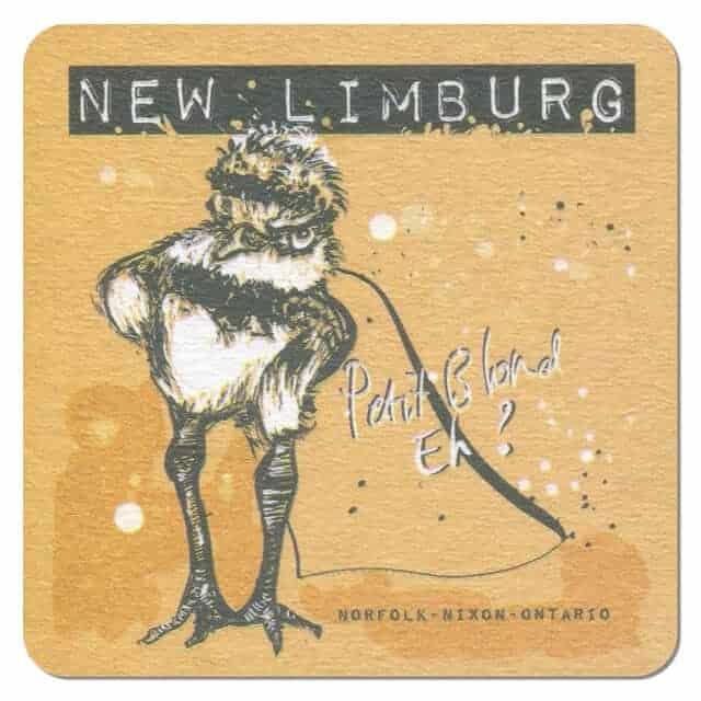 New Limburg Petit Blond Beer Mat