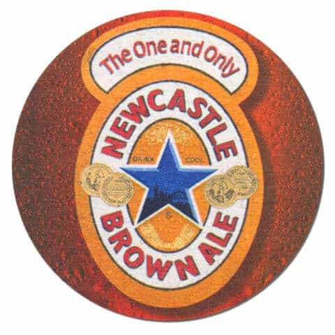 Newcastle Brown Ale Beer Mat