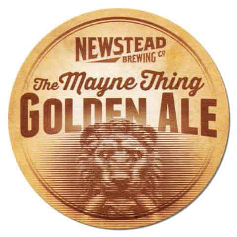 Newstead Brewing The Mayne Thing Beer Mat