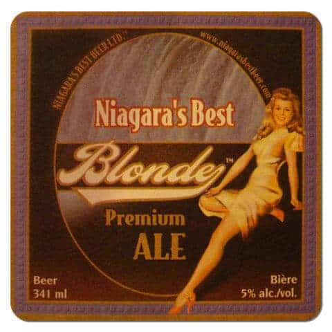 Niagaras Best Blonde Beer Mat