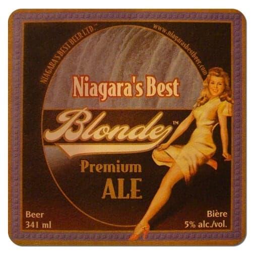 Niagaras Best Blonde Beer Mat