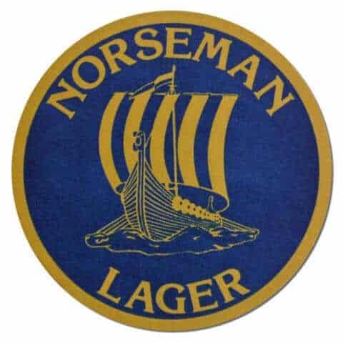 Norseman Lager Beer Mat