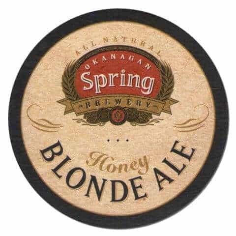 Okanagan Spring Brewery Beer Mat