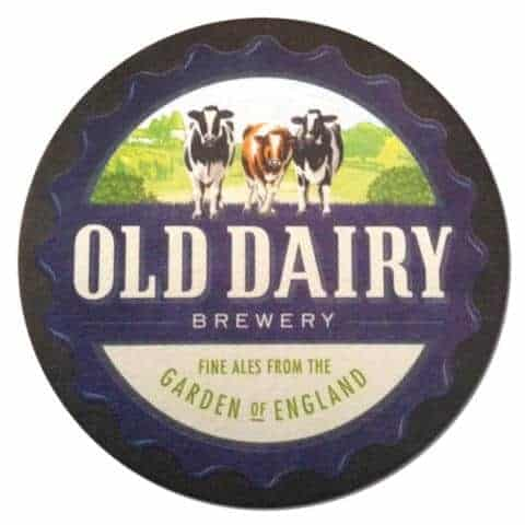 Old Dairy Brewery Beer Mat