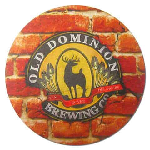 Old Dominion Brewing Beer Mat