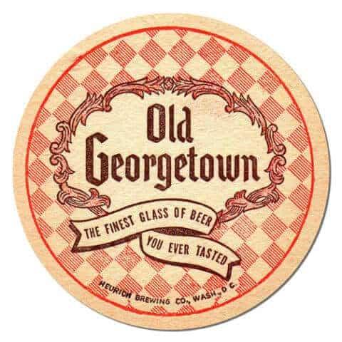 Old Georgetown Beer Mat