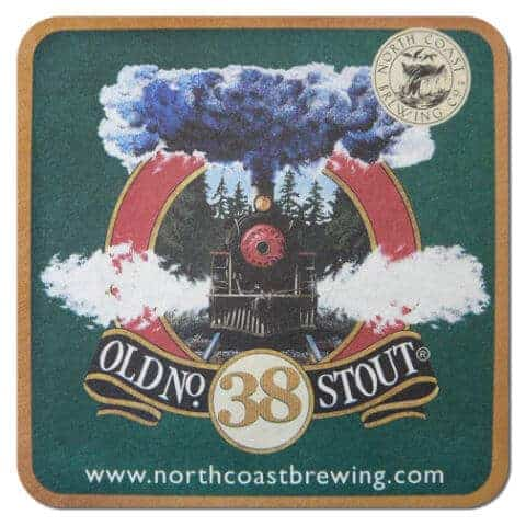 Old No. 38 Stout Beer Mat
