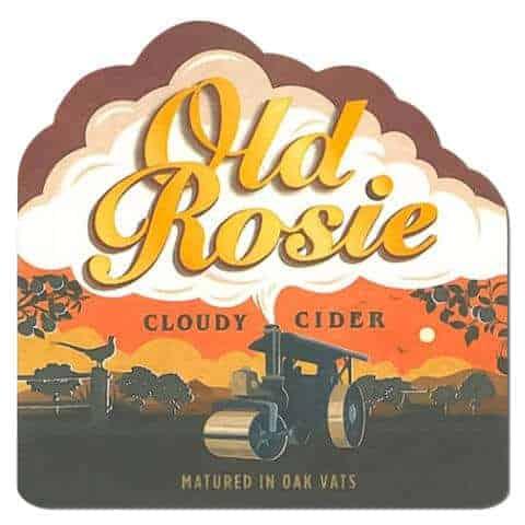Old Rosie Cider Drip Mat