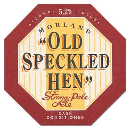 Old Speckled Hen Beer Mat