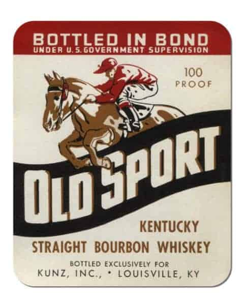 Old Sport Bourbon Coaster