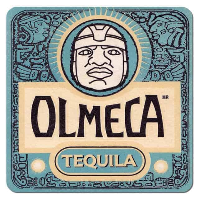 Olmeca Tequila Coaster