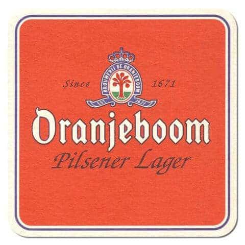 Oranjeboom Beer Mat
