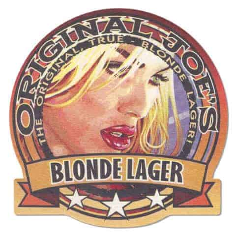Original Joe's Blonde Lager Beer Mat