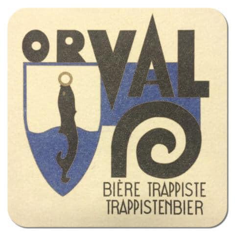 Orval Beer Mat