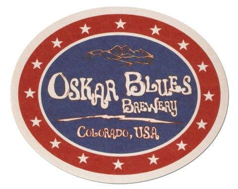Oskar Blues Brewery Beer Mat