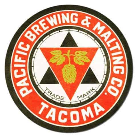 Pacific Brewing Beer Mat