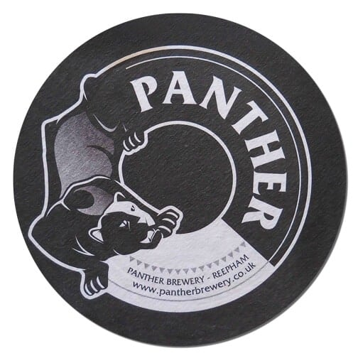 Panther Brewery Beer Mat