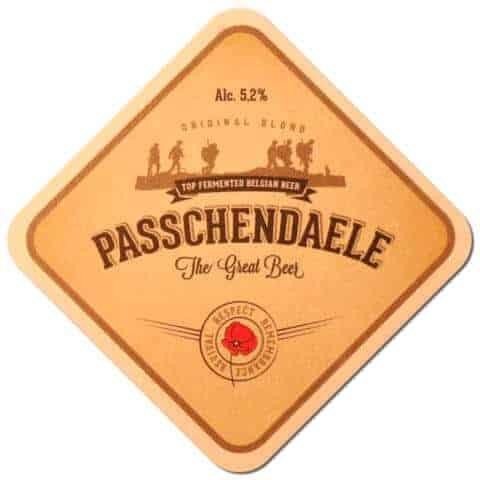 Passchendaele Beer Mat