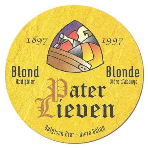 Pater Lieven Blonde Beer Mat