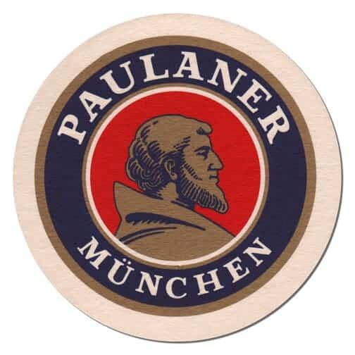 Paulaner Beer Mat Front