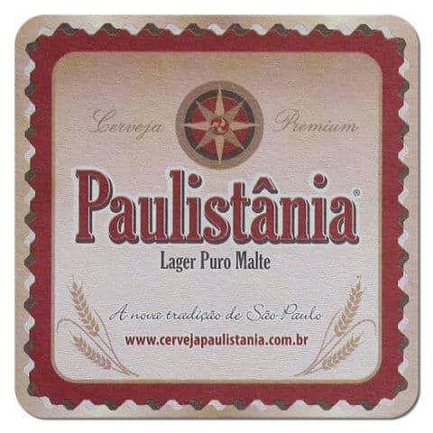 Paulistania Beer Mat
