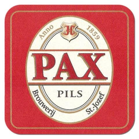Pax Pils Beer Mat