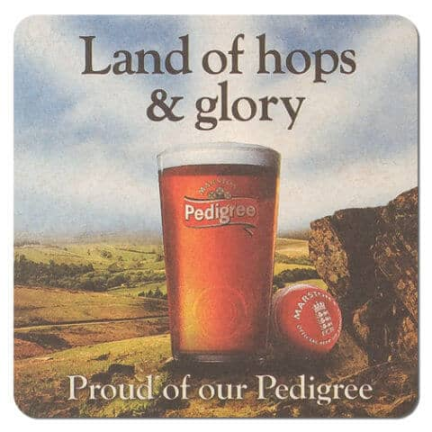 Pedigree Beer Mat