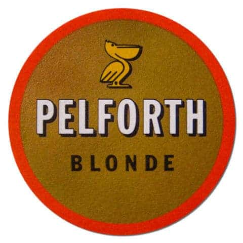 Pelforth Blonde Beer Mat