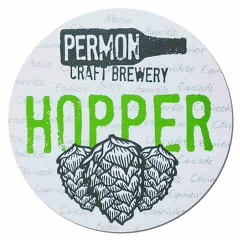 Person Craft Brewery Hopper Drip Mat
