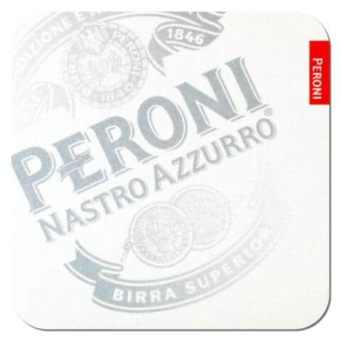 Peroni Beer Mat Front
