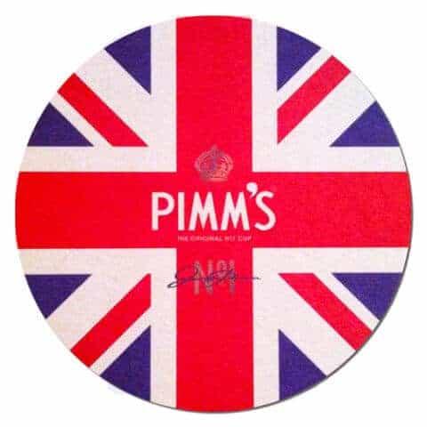Pimms Coaster