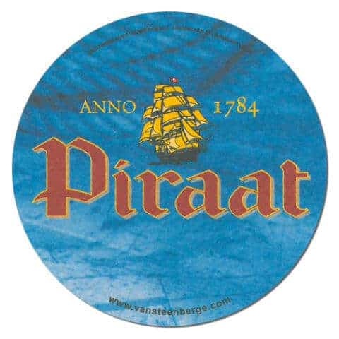 Piraat Beer Mat