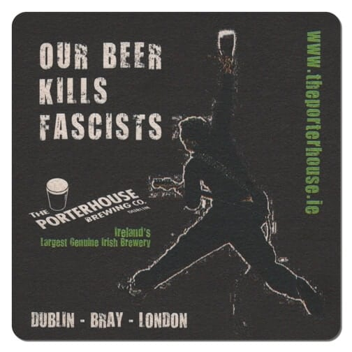 Porterhouse Brewing Co Beer Mat