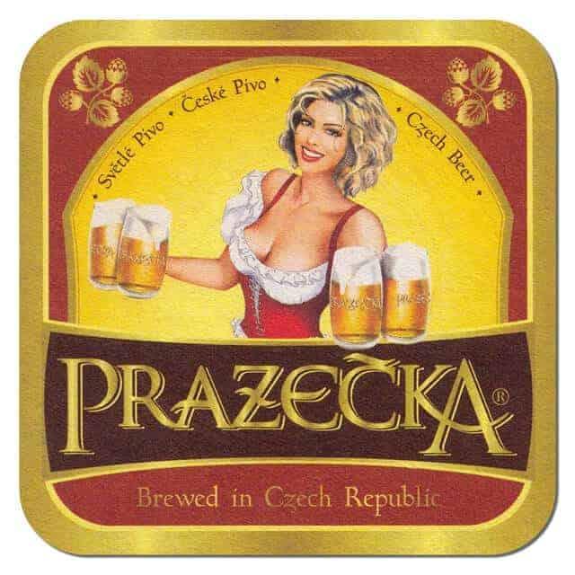 Prazecka Beer Mat