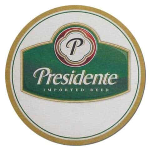 Presidente Beer Drip Mat