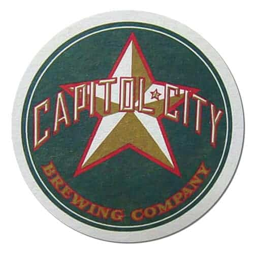 Capitol City Brewing Prohibition Porter Drip Mat Back