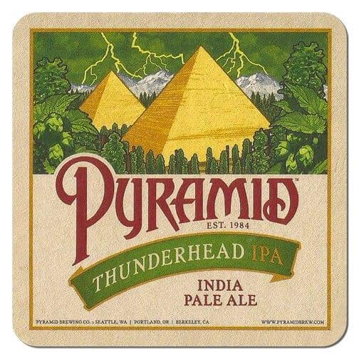 Pyramid Thunderbird IPA Beer Mat