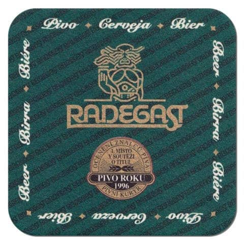 Radegast Beer Mat