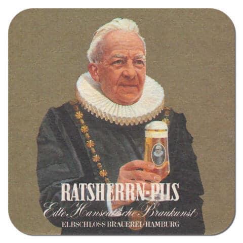 Ratsherrn Pils Beer Mat Front