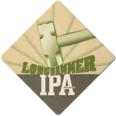 Red Hook Longhammer IPA Beer Mat