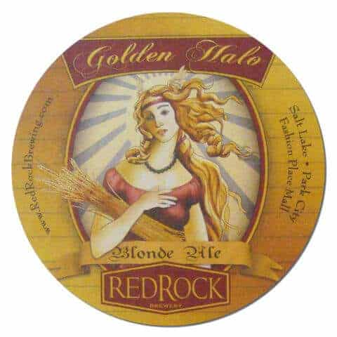 Red Rock Golden Halo Blonde Ale Drip Mat