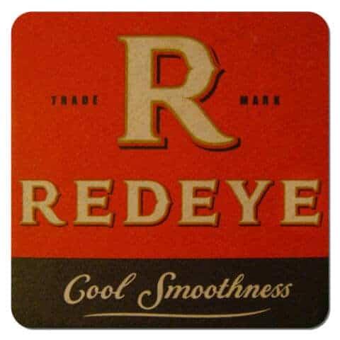 Redeye Beer Mat Front