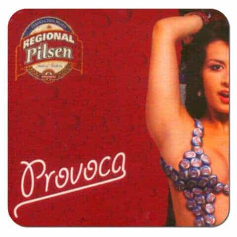 Regional Pilsen Beer Mat Front