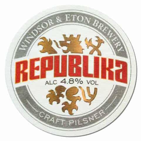 Republika Beer Mat