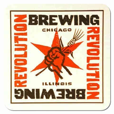 Revolution Brewing Beer Mat