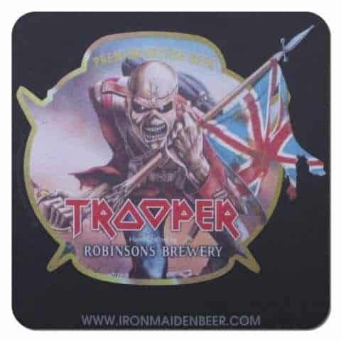 Robinsons Brewery Trooper Beer Drip Mat