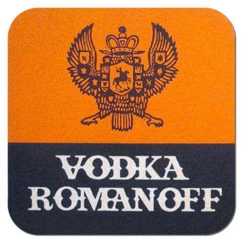 Romanoff Vodka Coaster