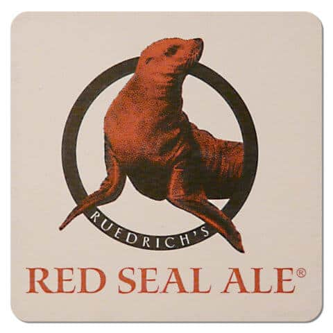 Ruedricks Red Seal Ale Drip Mat