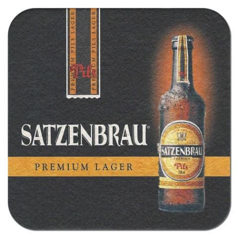Satzenbrau Pils Beer Mat