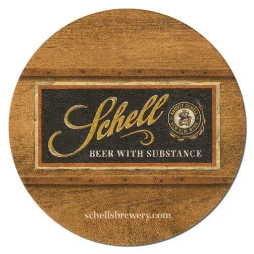 Schell Beer Mat Front